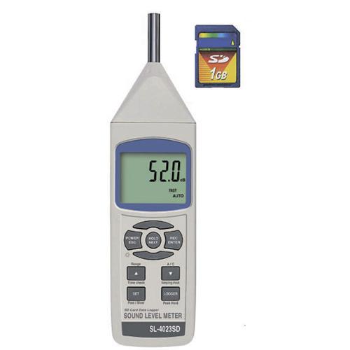 デジタル騒音計 SL-4023SD 測定器・計測器の購入なら【測定キューブ】               計測機器購入するなら 測定キューブ          デジタル騒音計 / SL-4023SD :騒音・振動レベル計