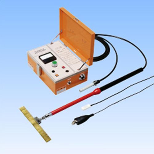 ピンホール探知器 |              計測機器購入するなら 測定キューブ           ピンホール探知器 : 非破壊検査機器